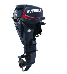 25 HP Evinrude E-TEC - Graphite Engine Profile(3)